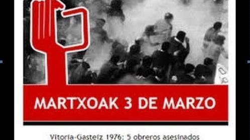 Monumento Víctimas 3 de marzo del 76