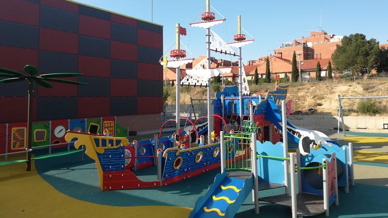 Gran parque infantil temático e inclusivo por la zona del Auditorio Miguel Ríos